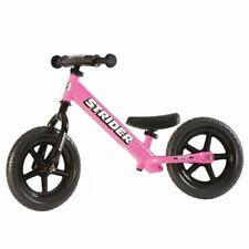 STRIDER 12 Sport Kids Balance Bike -No-Pedal- Learn To Ride Bike Pink