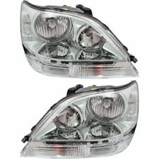 New Set of 2 Left & Right Side HEAD LAMP Assembly HID Fits Lexus RX300