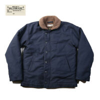 NON STOCK Vintage USN N-1 Deck Jacket Winter Military Navy Cotton Coat For Men