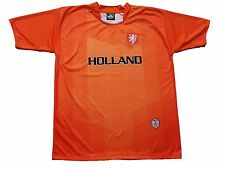Holland World Cup Soccer Jersey T-shirt Polo Sports National Team Orange Flag