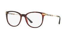Burberry BE2255Q 3657 53 Top Havana On Bordeaux Demo Lens  Women's Eyeglasses