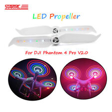 2 Pcs LED Flash Propeller Rechargeable Props For DJI Phantom 4 Pro V2.0 Drone