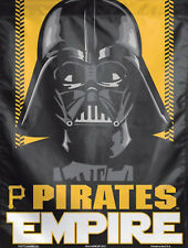 "Pittsburgh Pirates Star Wars Vertical Flag Mlb Darth Vader Licensed 28"" x 40"""