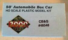 Lifelike HO Proto 2000 50'Automoblie Box car CB&Q no. 48548 BNIB
