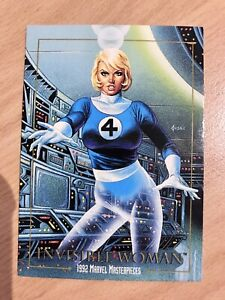 Marvel Masterpieces TC's x1 Invisible Woman Elektra Avengers X-Men Spider-Man