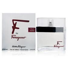 F By Ferragamo by Salvatore Ferragamo 3.4 oz EDT Cologne for Men New In Box