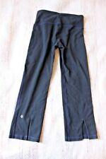 Lululemon Blue Split Gather and Crow Crop Pants Size 2