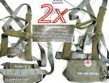 2 x cinturón de seguridad ambulancias fusssack cinturón rescate vuelo fijación Fix
