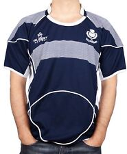 Mens Rugby Shirt Scotland Round Neck Half Sleeve Size 2X-Large