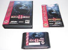 Mortal Kombat II (Sega Genesis, 1994) Complete! Cleaned & Tested