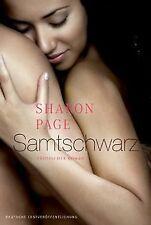 Samtschwarz von Sharon Page   Buch   Zustand gut