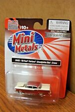 CLASSIC METAL WORKS '59 FORD FAIRLANE BRANDYWINE RED 2-TONE HO SCALE 1/87