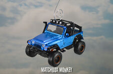 Custom 2003 Jeep Wrangler Rubicon Unlimited Christmas Ornament 1/35 Adorno SUV
