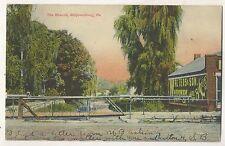 Branch Bridge SHIPPENSBURG PA Vintage Cumberland County Pennsylvania Postcard 2