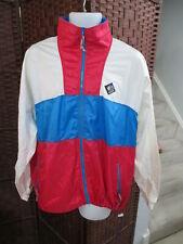 Vintage Women's Woolrich Windbreaker Jacket Sigmet Gear Size XL Pink White