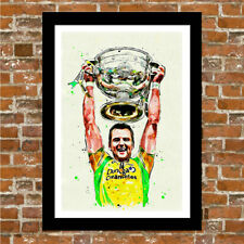 DONEGAL GAELIC FOOTBALL - ALL IRELAND FRAMED ART PRINT.