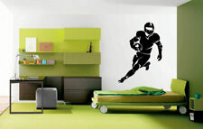 Wall Vinyl Sticker Room Decals Mural Design American Football Player  bo1627