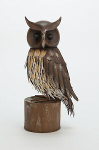 Archipelago Metal Garden Bird Owl