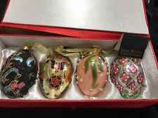 Joan Rivers Easter Egg Ornaments 2007 Collection Set Of 4 Style
