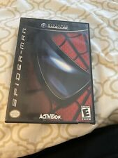 nintendo gamecube Spiderman Game - Complete - Game , Case , Instructions