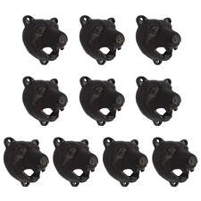 10pcs Cast Iron Wall Mount Bottle Opener Grizzly Bear Teeth Opener Pub Bar Tool
