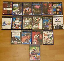 17 Stück Playstation 2 Spielesammlung PS2 Spiele Konvolut Sammlung Video Games