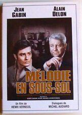 DVD MELODIE EN SOUS SOL - Jean GABIN  / Alain DELON / Maurice BIRAUD