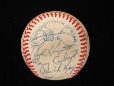 1988 AL Champions Oakland Athletics Autographed Baseball – 22 Signatures – JS...