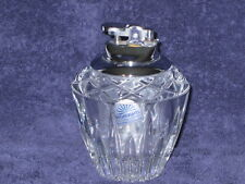 Princess House Highlights Lead Crystal Table Lighter in 24% lead - #873 - NEW,