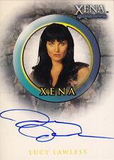 XENA Season 4/5 ~ Lucy Lawless 'Xena' Autograph Card #NEW