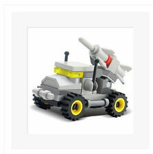 Building blocks 8007 military educational toys their fighters chariot