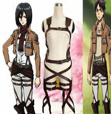 Attack On Titan Shingeki no Kyojin Cosplay Belts Adjustable Harness Straps