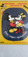 Walt Disney Characters Patch Mickey and Minnie Mouse