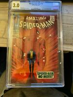Amazing Spiderman 50 CGC 3.0 Must Have! Low Grade Key!!! 1st Wilson Fisk Kingpin