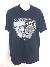 Reebok Super Bowl XXXVll Tampa Bay Buccaneers Raiders Men's Size M T-Shirt
