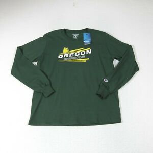 Champion NCAA University of Oregon Ducks Long Sleeve T-Shirt Youth Sz XL (14-16)