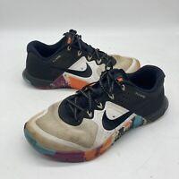 New Women's NIKE METCON 2 821913 102 Black White Crossfit Training Shoes Size 6