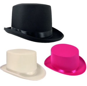 TOP HAT WEDDING ASCOT VICTORIAN RING MASTER BURLESQUE MAGICIANS QUALITY COSTUME