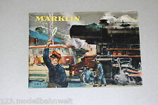Märklin Catalogo 1956 traccia h0