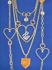 Rocawear Gold Rhinestone Signature Layer Necklace $85