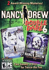 Nancy Drew: Double Dare 6 (PC,2009) Legend Crystal Skull White Wolf Icicle Creek