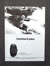 G280-Advertising Pubblicità - 1981 - FERDINAND ALEXANDER PORSCHE MILITARY