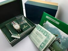 Rolex Ladies Datejust 18K Gold & S/S Automatic Watch 69173 Full set BOX PAPERS