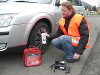 HP Reifen Pannen Set mit Kompressor Reifen Doktor Reparatur Radwechsel 10257 !