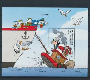LO10142 St Vincent Mickey Mouse disney good sheet MNH