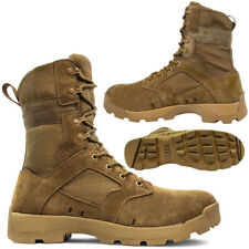 MENS DESERT ARMY COMBAT LEATHER PATROL BOOTS TACTICAL MILITARY WORK JUNGLE SIZE