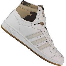 Adidas Originals Top Ten Hi Baskets pour Femmes Chaussures de Sport en Cuir EUR 37 (uk 4 5)