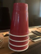 Set of 4 RED CUP BED RISERS Solo Party Cup Drinking Games Pong