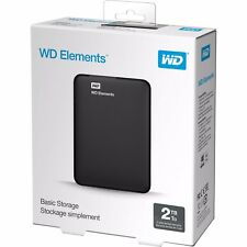 "Western Digital Elements  2TB 2.5"" Portable External Hard Drive 2 TB for PS3 4"