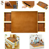 Jigsaw Puzzle Table Wood 4 Sliding drawers Smooth Work Surface Store <1500 Pcs